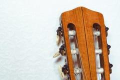Шея гитары к стене Стоковое Изображение RF