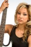 шея гитары Стоковое Изображение RF