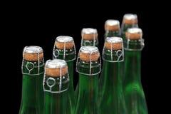 Шея и пробочка шампанского бутылок Стоковое фото RF