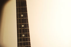 шея mandolin Стоковое Изображение