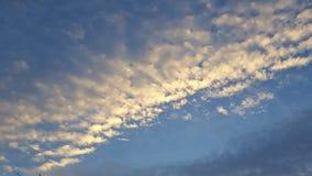 Шелковистые небеса стоковые фото
