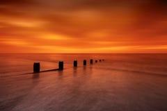 Шелковистый восход солнца Стоковые Изображения RF
