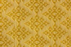 Шелк золотой ромбовидной картины тайский Стоковые Фотографии RF