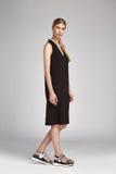 Шелк красивой носки белокурых волос женщины очарования сексуальной длинный черный Стоковое Фото