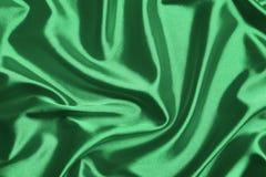 шелк предпосылки зеленый Стоковое Фото