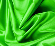шелк предпосылки зеленый Стоковое Изображение RF