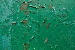 шелушение краски металла grunge предпосылки старое ржавое Стоковые Фотографии RF