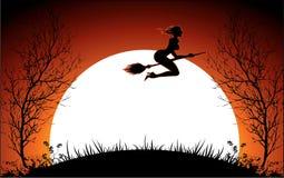 шикарная ведьма Стоковая Фотография RF