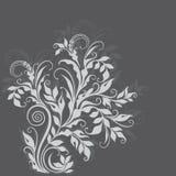 Шикарная декоративная флористическая иллюстрация Стоковая Фотография