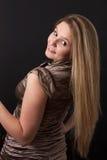 Шикарная девушка партии Стоковая Фотография