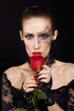 Шикарная женщина Стоковые Изображения RF