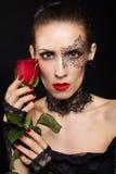 Шикарная женщина Стоковое Изображение RF