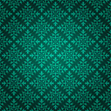 Шикарная зеленая флористическая предпосылка Стоковое Изображение RF