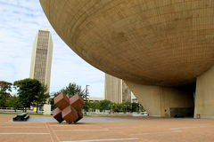 Шикарная и интересная архитектура совсем через город, площадь Имперского штата, 2015 Стоковые Изображения RF