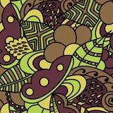 шикарная картина цветков безшовная Стоковые Фото