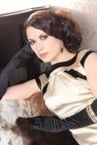 Шикарная молодая женщина Стоковые Изображения RF
