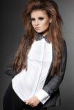 Шикарная модная женщина Стоковые Изображения RF