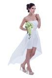 Шикарная невеста стоковые фотографии rf