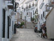 Шикарная старая деревня Torrox, Испании Стоковое Изображение