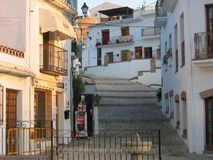 Шикарная старая деревня Torrox, Испании Стоковое Изображение RF