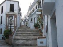 Шикарная старая деревня Torrox, Испании Стоковое фото RF