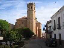 Шикарная старая церковь в Ла Encina Baños de, Испании Стоковое Изображение