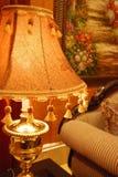 шикарная таблица светильника Стоковые Фотографии RF