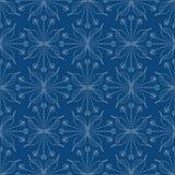 Шикарная флористическая предпосылка, безшовная картина вектора Стоковые Изображения