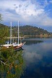 Шикарная яхта Стоковое Фото