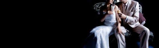 шикарное венчание здравицы Стоковая Фотография