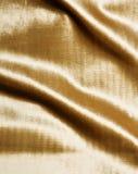 шикарное золото ткани Стоковые Изображения