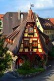 Шикарное немецкое здание, Alte Schmiede Стоковые Изображения RF