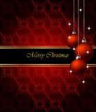 шикарное рождества предпосылки классицистическое Стоковая Фотография RF