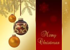 Шикарное рождество Стоковые Фотографии RF