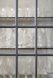 Шикарное стеклоизделие в шкафе Стоковые Фото