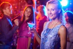 Шикарное clubber стоковое фото rf