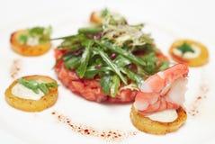 шикарное salmon tartare Стоковые Изображения