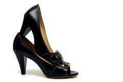 шикарные женские ботинки Стоковое Изображение