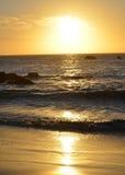 Шикарные заходы солнца Стоковые Изображения RF