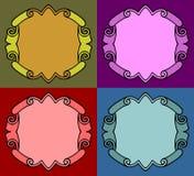 шикарные рамки Стоковое Фото