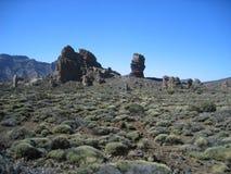 Шикарные утесы в национальном парке El Teide, Испании Стоковые Фото