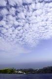 Шикарный взгляд бассейном Стоковая Фотография