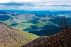 Шикарный горный вид Стоковое Изображение RF