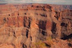 Шикарный гранд-каньон сценарный обозревает от пункта орла Стоковые Изображения