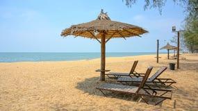 Шикарный летний день на пляже Стоковые Изображения