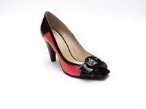 шикарный женский ботинок Стоковые Фотографии RF