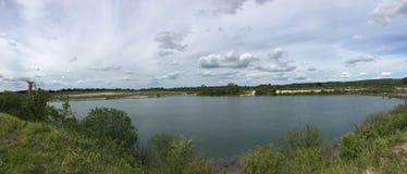 Шикарный и изумительный взгляд озера стоковая фотография rf