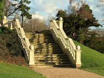 шикарный камень stairway Стоковые Фотографии RF