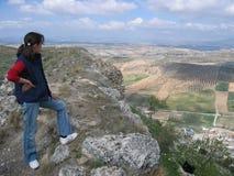 Шикарный ландшафт в Jaen, Испании Стоковая Фотография
