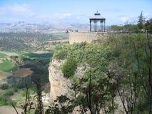 Шикарный ландшафт в Ronda, Испании Стоковые Изображения
